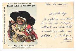 Ménélik II, Roi Des Rois D'Ethiopie, Le Bon Négus Profite De La Victoire Mais Il N'en Abuse Jamais -   - L 1 - Etiopía