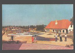 Adinkerke - Meli-Park - Het Dambord Met Het Paviljoen Der Exotische Vogels - Ganimeerd - De Panne