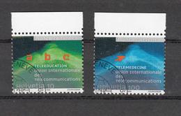 UIT  1999  N° 16-17   OBLITERES     CATALOGUE  ZUMSTEIN - Suisse
