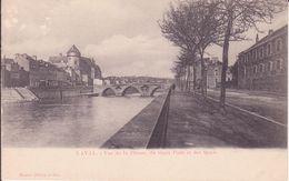 CPA -  LAVAL - Vue De La Prison , Du Vieux Pont Et Des Quais - Laval