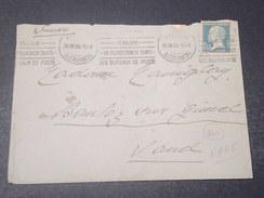 FRANCE - Enveloppe De Paris Pour La Suisse En 1926 , Affranchissement Type Pasteur - L 10980 - 1921-1960: Période Moderne