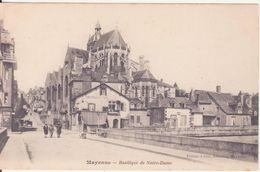 CPA -  MAYENNE - Basilique De Notre Dame - Mayenne