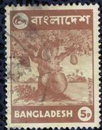 Bangladesh 1973 Oblitéré Used Arbre Artocarpus Heterophyllus Jacquier Jack Fruit Tree SU - Bangladesh