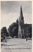 CARTOLINA  - INGHILTERRA - OXFORD - CONDUIT ROAD LOOKING TOWARDS ALBERT PARK ABINGDON - Oxford