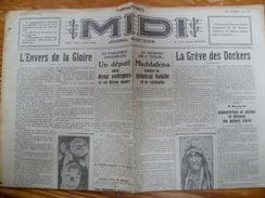 "Journal ""MIDI"" Bruxelles 21 Juin 1928 - Journaux - Quotidiens"