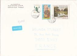 Enveloppe De 2003 De Lhota Pour Evry - Tchéquie