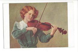 18934 -  Albert Aublet Le Jeune Violon N°1489 - Musique Et Musiciens
