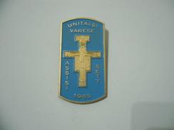SPILLA PINS UNITALSI VARESE ASSISI 1983. - Non Classificati