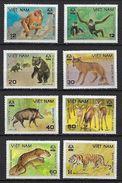 """Vietnam YT 273 à 280 """" Animaux Sauvage """" 1981 Neuf** MNH - Vietnam"""