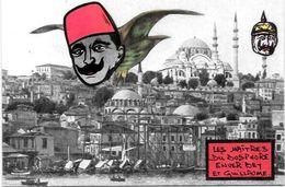 CPM Arménie Génocide Arménien Turquie Turkey Satirique Caricature Non Circulé Kaiser Enver BEY - Arménie