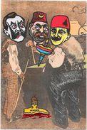 CPM Arménie Génocide Arménien Turquie Turkey Satirique Caricature Non Circulé Kaiser Enver BEY Toupie - Armenië