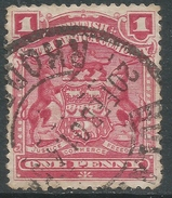 British South Africa Company (Rhodesia). 1898-1908 Arms. 1d Used. SG 77 - Southern Rhodesia (...-1964)