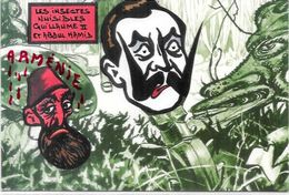 CPM Arménie Génocide Arménien Turquie Turkey Satirique Caricature Non Circulé Kaiser  Abdul Hamid - Armenië