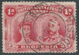 British South Africa Company (Rhodesia). 1910-13 KGV. 1d Used. SG 125 - Southern Rhodesia (...-1964)