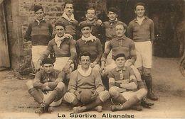 71 : Saint Alban  Ou Saint Albain - équipe De Foot Ball  Football Photo Combier Macon - France