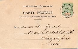 Dap Cau Tonkin Pour La Suisse - Indochine (1889-1945)