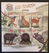 Ghana 2002 Eco Tourism Sheet Of Six - Ghana (1957-...)