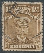 British South Africa Company (Rhodesia). 1913-22 KGV. 1½d Used. SG 197 - Southern Rhodesia (...-1964)