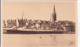 CPA -  27. St Malo, Le Courrier D'Angleterre, à Quai Dans L'avant Port - Saint Malo