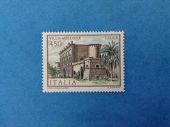 1984 ITALIA FRANCOBOLLO NUOVO STAMP NEW MNH** VILLE LECCE VILLA MELLONE - Architettura