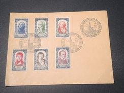 """FRANCE - Oblitération """" Congrès Confédération Européenne Agriculture .."""" Sur Enveloppe Sur Série Hoche En 1950 - L 11017 - Poststempel (Briefe)"""