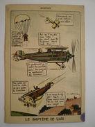 Cpa, Aviation, Le Baptème De L'air, Illustrateur Signé JP. GODREINE - Flugwesen