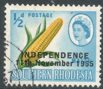 Rhodesia. 1966 Independence Overprints. ½d Used SG 359 - Rhodesia (1964-1980)