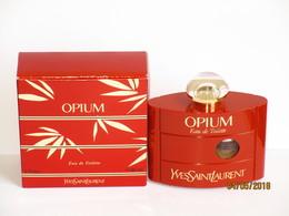 Flacons  De Parfum Flacon VIide OPIUM De YVES SAINT LAURENTeau De Toilette    60 Ml + Boite - Bottles (empty)