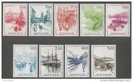 ** MONACO 1986 SERIE Du N°1510 A N° 1518 - 9 TP NEUFS  ** - Monaco