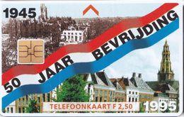 50 Jaar Bevrijding Auf Zweiländerkarte D/NL - Niederlande