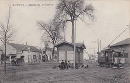 ANTONY - Station Du Tramway - Animé - TBE - Transport Urbain En Surface
