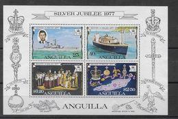 Hoja Bloque De Anguilla Nº Yvert HB-15 Nuevo - Anguilla (1968-...)