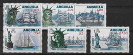 Serie De Anguilla Nº Yvert 62/67 Nuevo - Anguilla (1968-...)