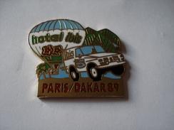 20180101-1226 RALLYE PARIS - DAKAR 89 HOTEL IBIS - Rallye