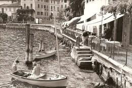 Limone Sul Garda - REAL PHOTO (12,0 X 18,0 Cm) - Veduta - Barca - Boat - Ship - Bateau - Brescia - Italia - Brescia