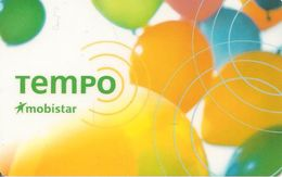CARTE+-PREPAYEE-MOBISTAR-GSM--500BEF-TEMPO-V° N°TGros N° CODE-12/2001-TBE - [2] Prepaid & Refill Cards