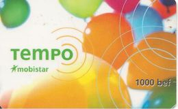 CARTE+-PREPAYEE-MOBISTAR-GSM--Pt 1000BEF-TEMPO--12/99-TBE - [2] Prepaid & Refill Cards