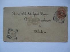 NETHERLANDS INDIES 1897 Cover - Semarang Postmark - Indie Olandesi