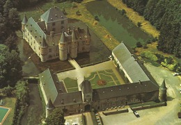 SPONTIN Sur Bocq. Château Féodal.  (scan Verso) - Yvoir