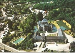 SPONTIN - Vue Aérienne.  Le Château.  (scan Verso) - Yvoir