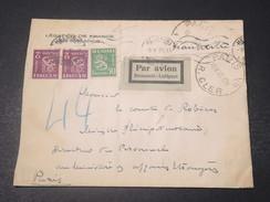 FINLANDE - Enveloppe De La Légation De France Pour Paris En 1935 - L 11051 - Finland