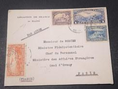 HAITI - Enveloppe De La Légation De France Pour Paris En 1935 - L 11052 - Haïti