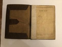 Livret Militaire Sergent De 68°Ri Blessé Dans La Somme Avec Certificat De La Médaille Des Blessés - 1914-18