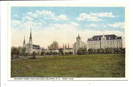 BELMONT College - Old  Postcard - Etats-Unis