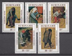 Suriname 1971  Mi.nr: 608-612 Für Das Kindes  NEUF Sans CHARNIERE / MNH / POSTFRIS - Suriname