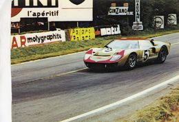 24 Heures Du Mans 1966  -  Ford MkII (Holman & Moody)  - Pilote: Ronnie Bucknam  -  CP - Le Mans