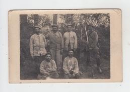 CARTE PHOTO / GROUPE DE SOLDATS - Régiments