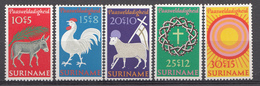 Suriname 1971  Mi.nr: 596-600 Ostern  NEUF Sans CHARNIERE / MNH / POSTFRIS - Suriname