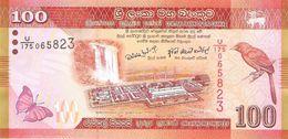 Sri Lanka - Pick 125 - 100 Rupees 2010 - Unc - Sri Lanka