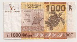 1000 FRS TERRITOIRES FRANCAIS DU PACIFIQUE 1992 - Frankrijk